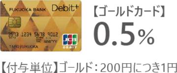 Wallet+を利用していない場合は還元率0.5%!